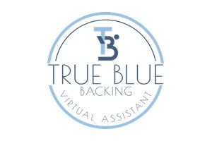 True Blue Backing